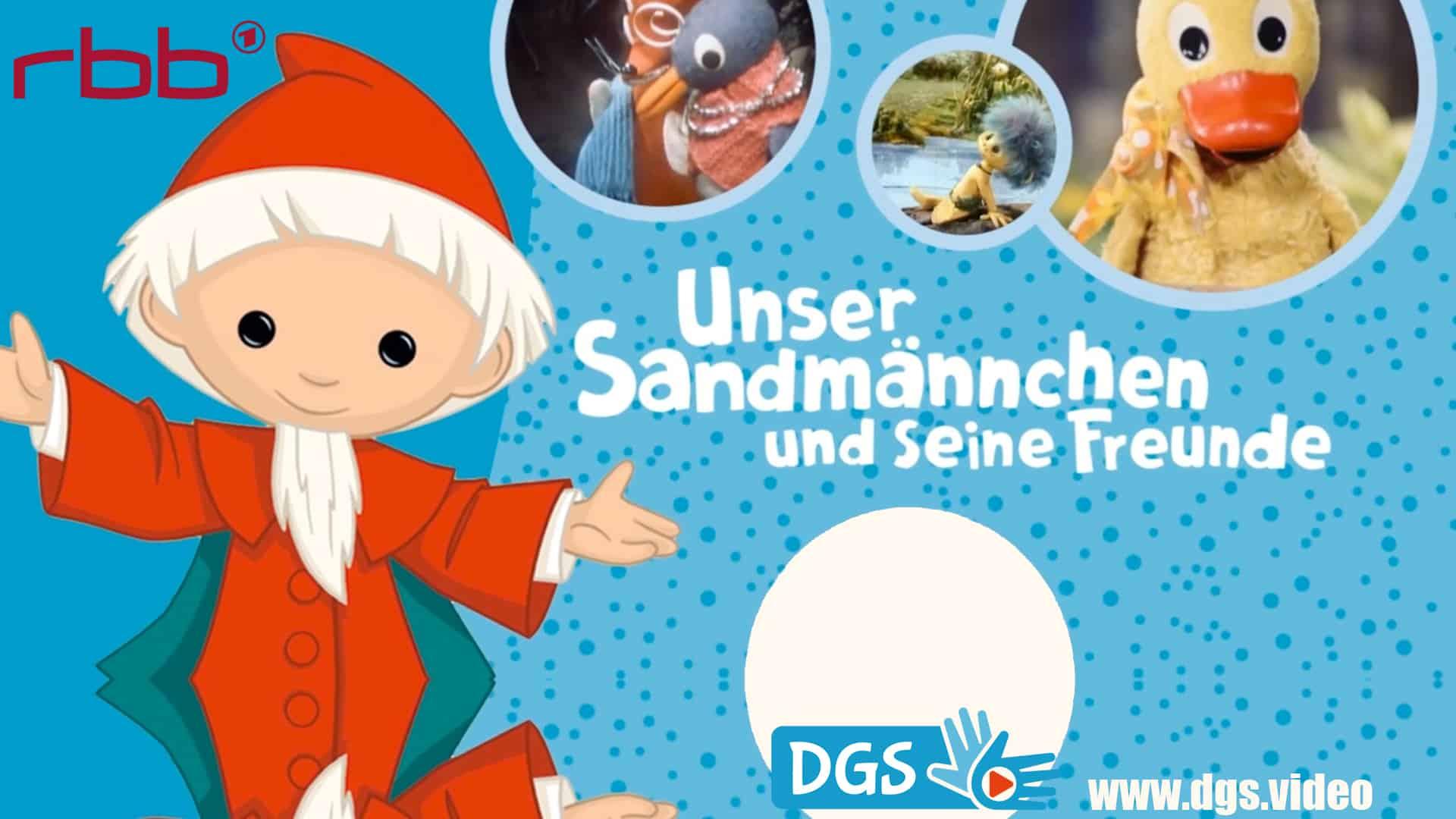 rbb sandmann in deutscher gebaerdensprache